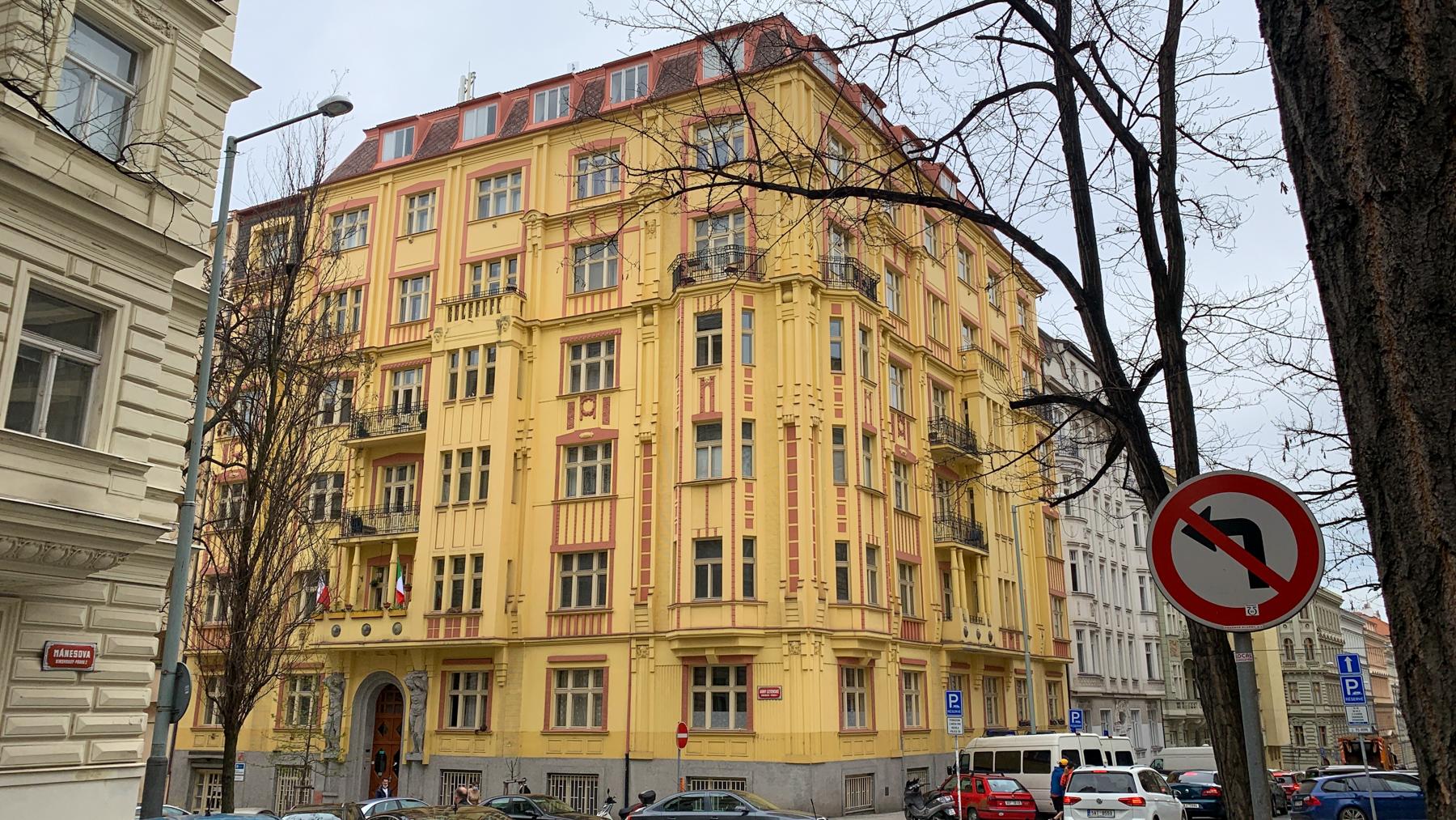 Městský byt 4+1, byt č. 25
