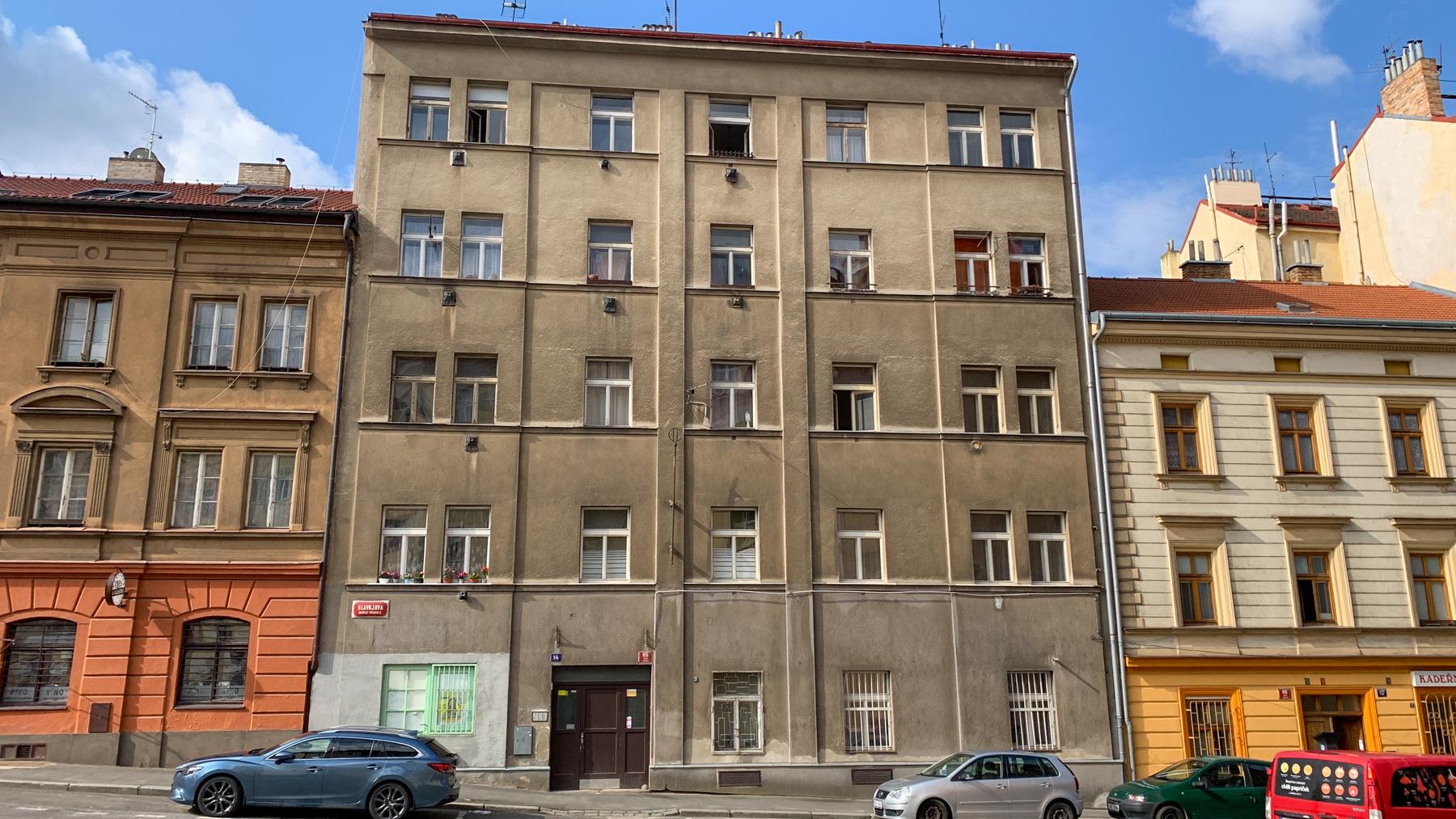 Městský byt 1+1, byt č. 2