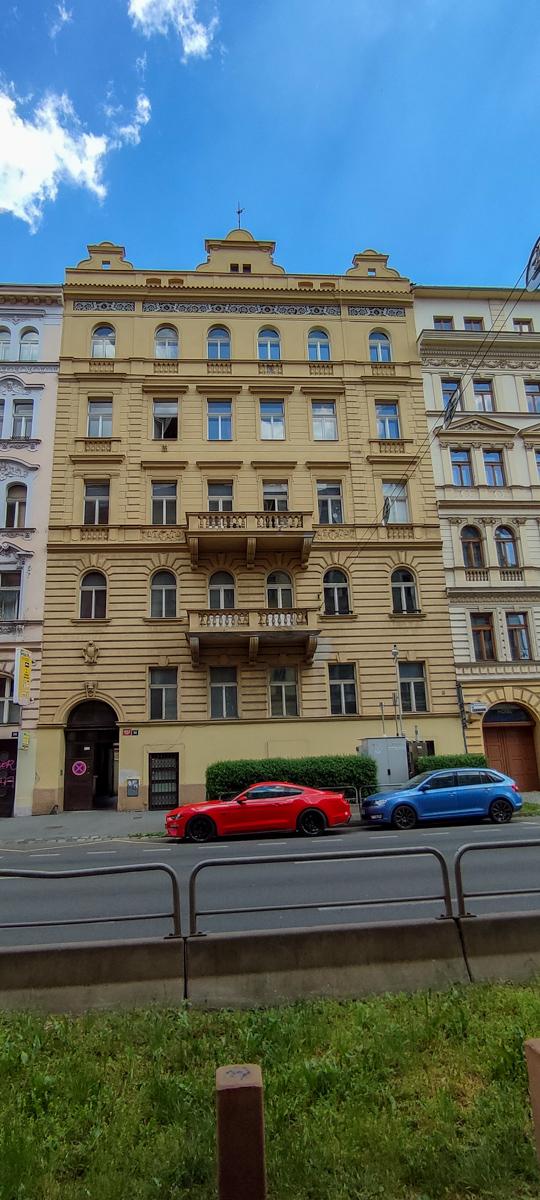 Městský byt 3+1, byt č. 1