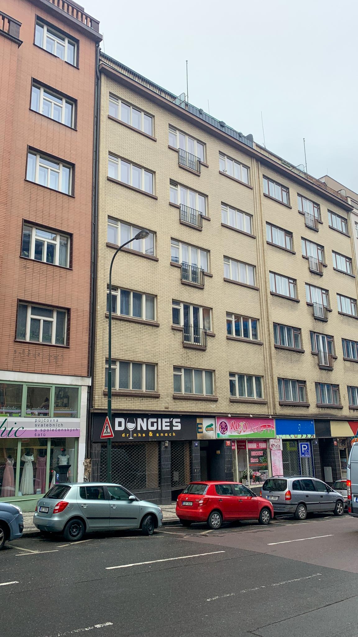 Městský byt 3+1, byt č. 8