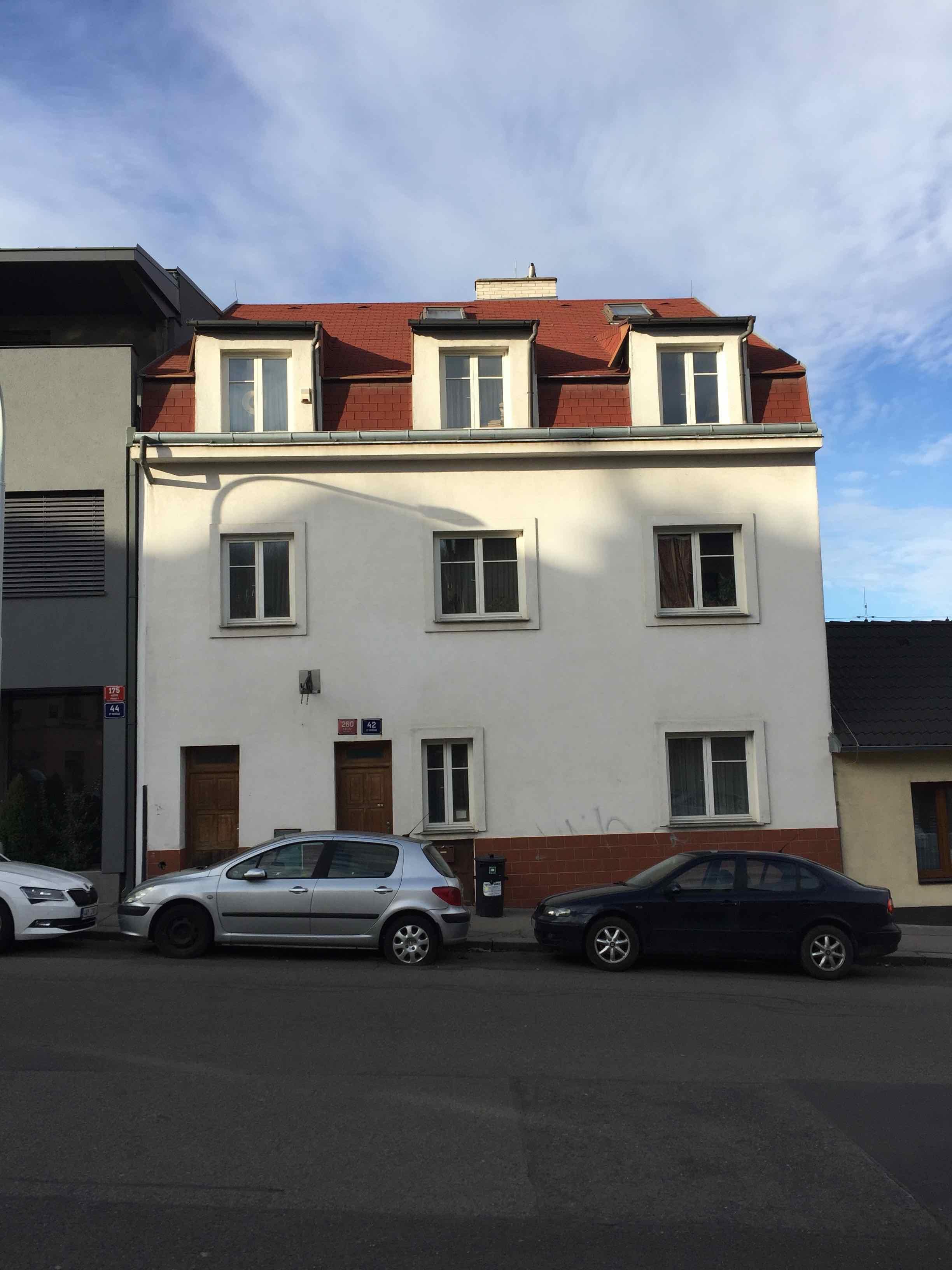 Rodinný dům Praha 5 - Košíře