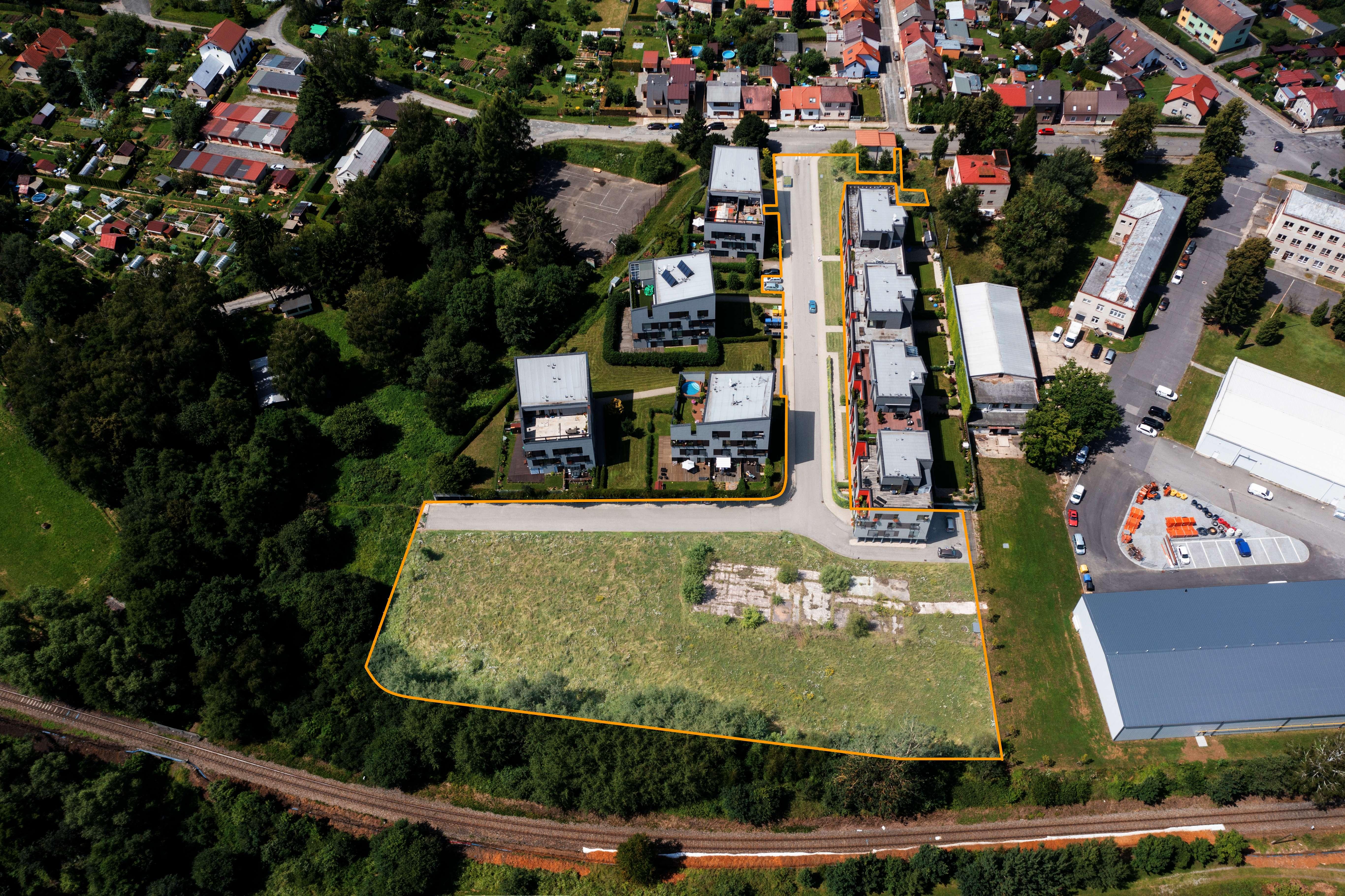 Pozemky určené k výstavbě bytových domů